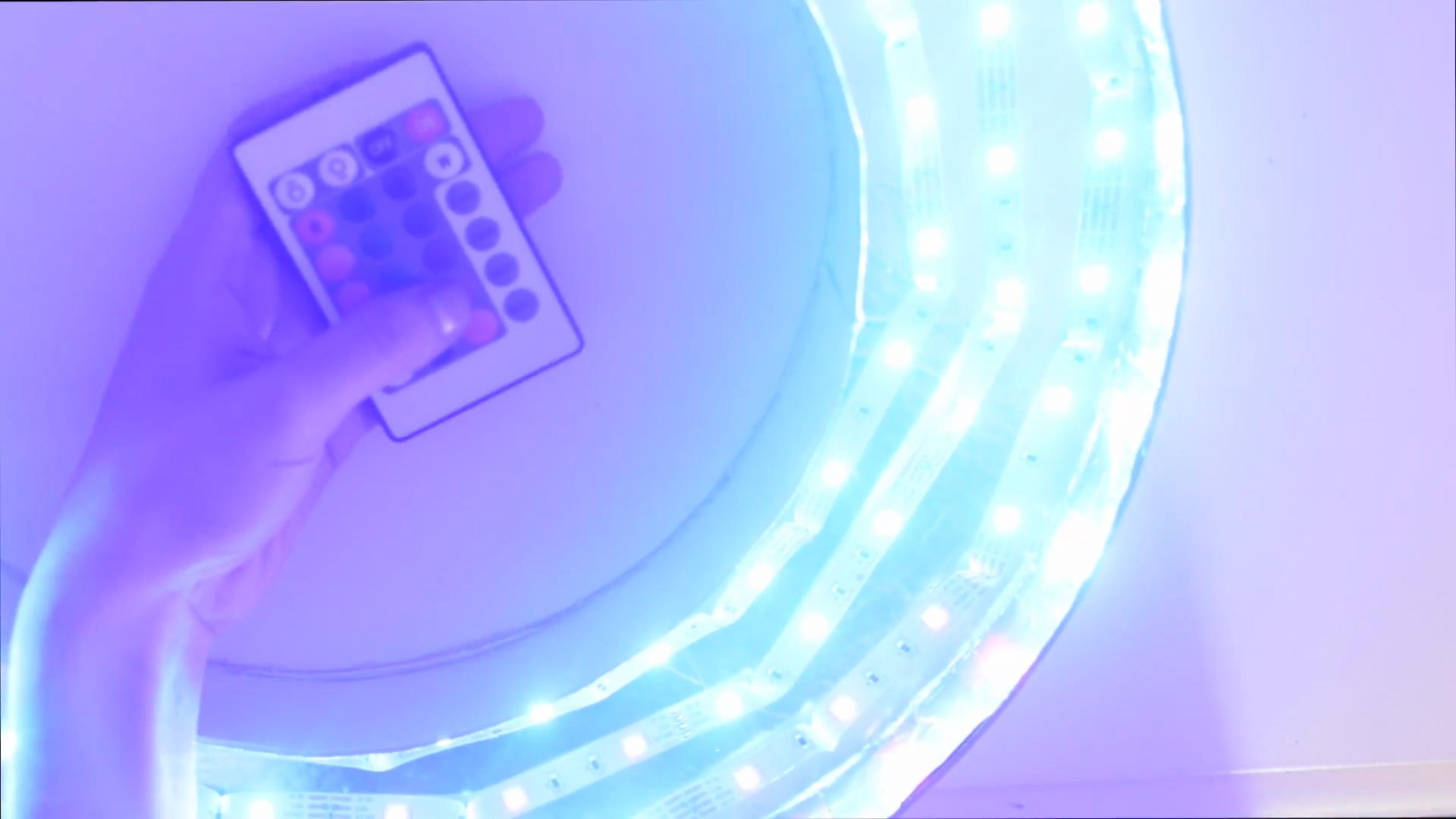 Como hacer un aro de luz casero