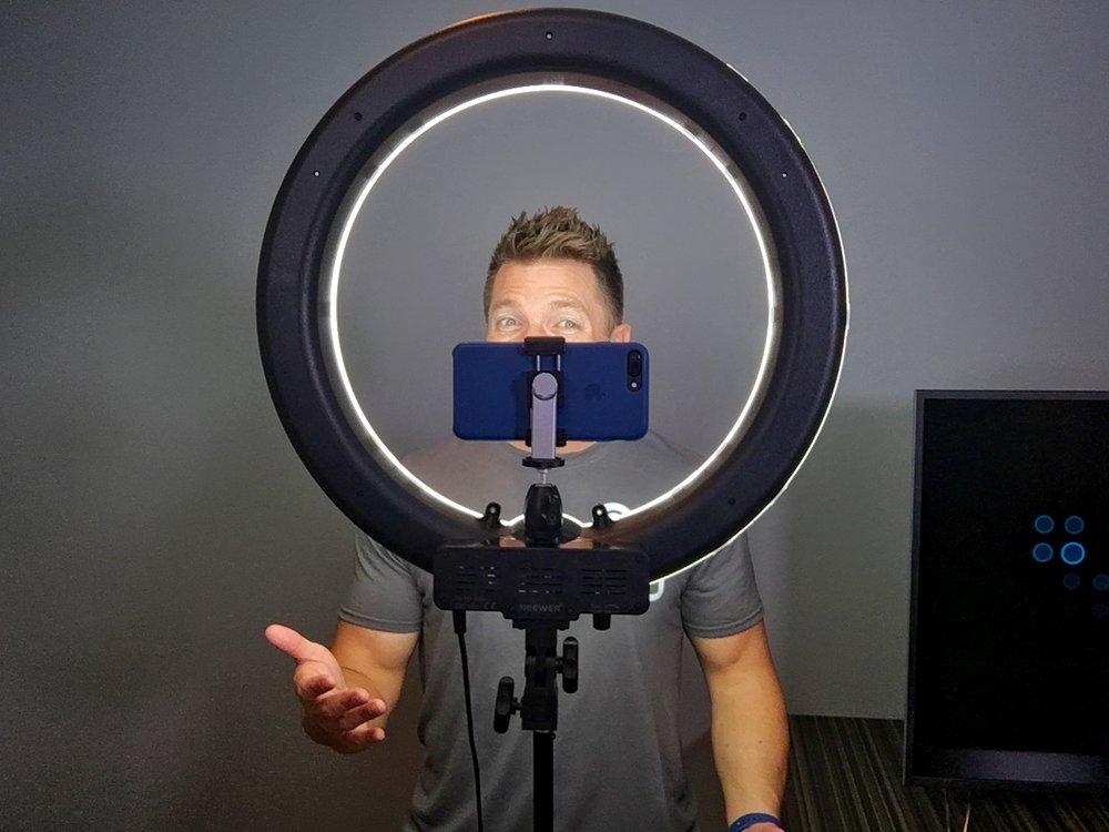 iluminacion led fotografia profesional