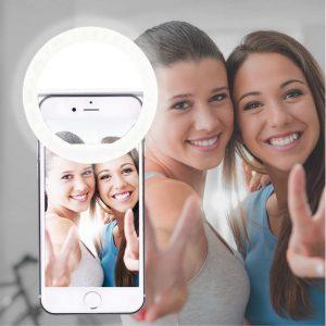 anillo de luz para selfie